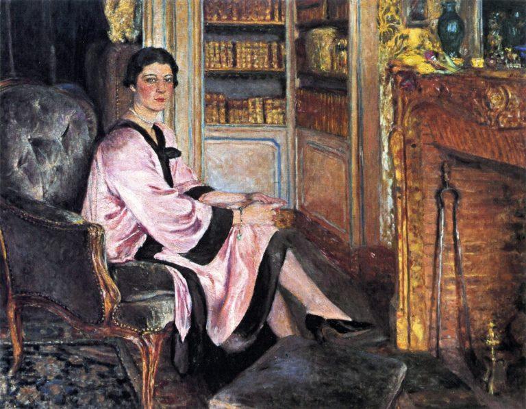 Jacqueline Boudoin | Edouard Vuillard | oil painting