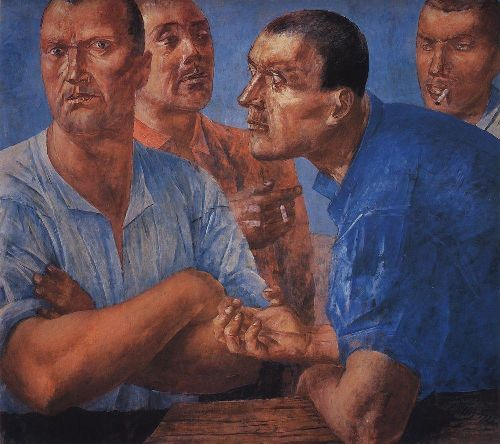 Work 1926 | Petrov Vodkin Kuzma Sergeevich | oil painting
