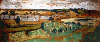 Landscape at Saint Jacut | Edouard Vuillard | oil painting