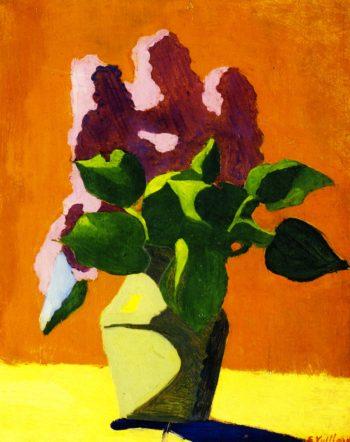 Lilacs | Edouard Vuillard | oil painting
