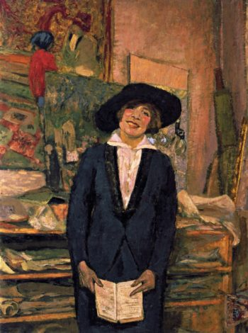 Lucie Belin Smiling | Edouard Vuillard | oil painting