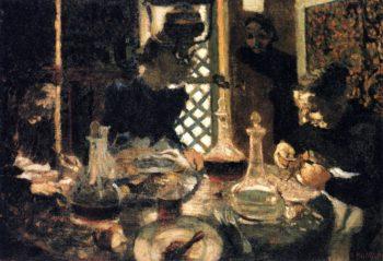 Lunchtime | Edouard Vuillard | oil painting