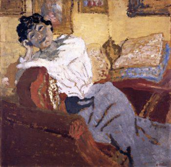 Madame Hessel in Her Boudoir | Edouard Vuillard | oil painting