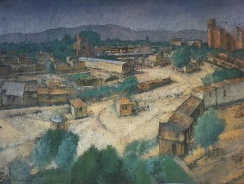 Type of Samarkand 1921 | Petrov Vodkin Kuzma Sergeevich | oil painting
