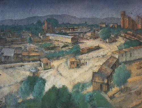 Type of Samarkand 1921   Petrov Vodkin Kuzma Sergeevich   oil painting
