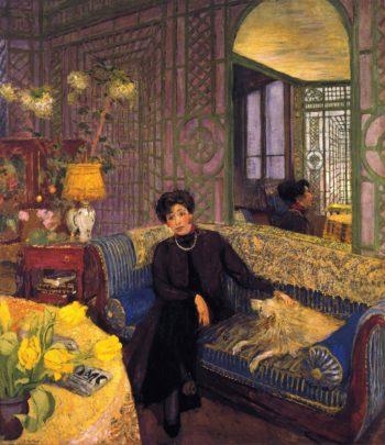 Marcelle Aron | Edouard Vuillard | oil painting
