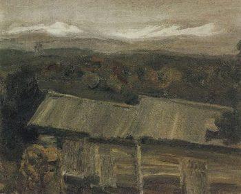 Khvalynsk 1900 e | Petrov Vodkin Kuzma Sergeevich | oil painting