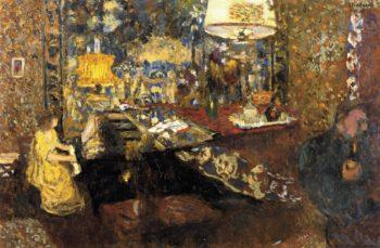 Misia at the Piano | Edouard Vuillard | oil painting