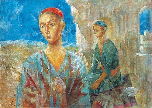 Samarkand 1926 | Petrov Vodkin Kuzma Sergeevich | oil painting