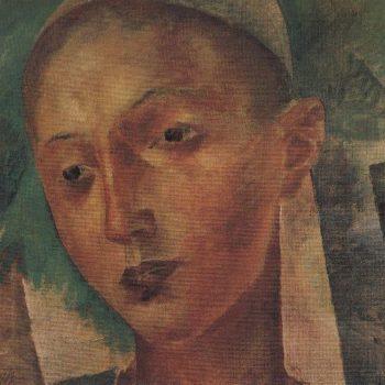 Boy Uzbek 1921 | Petrov Vodkin Kuzma Sergeevich | oil painting