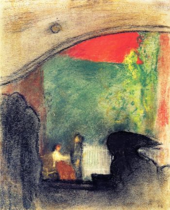 Scene from a Play by Ibsen | Edouard Vuillard | oil painting