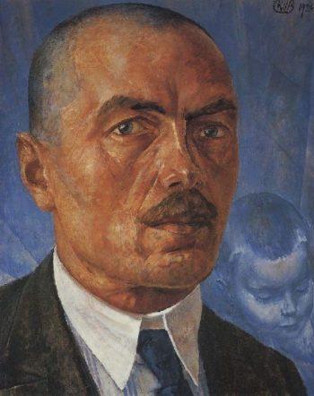 Self 1 1926 1927 | Petrov Vodkin Kuzma Sergeevich | oil painting