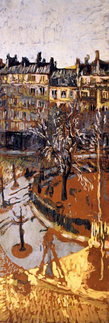 Study for Place Vintimille 1   Edouard Vuillard   oil painting