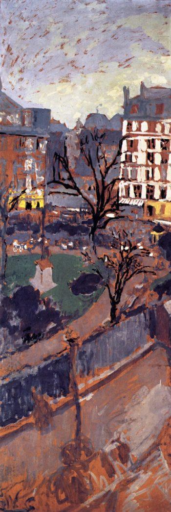 Study for Place Vintimille   Edouard Vuillard   oil painting