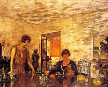 The Black Cups   Edouard Vuillard   oil painting