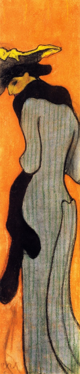 The Boa   Edouard Vuillard   oil painting