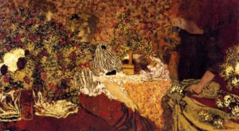 The Dressing Table   Edouard Vuillard   oil painting