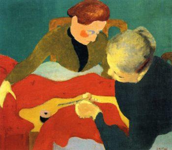The Dressmakers   Edouard Vuillard   oil painting