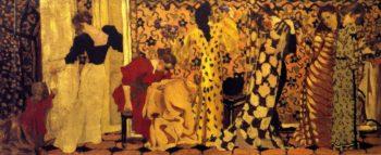 The Dressmaking Studio I   Edouard Vuillard   oil painting