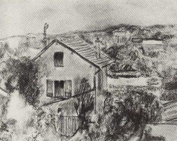 Sevres 1908 | Petrov Vodkin Kuzma Sergeevich | oil painting