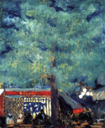 The Guinguette   Edouard Vuillard   oil painting