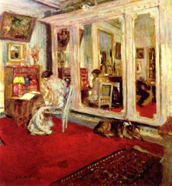 The Hessels in Their Dressing Room   Edouard Vuillard   oil painting