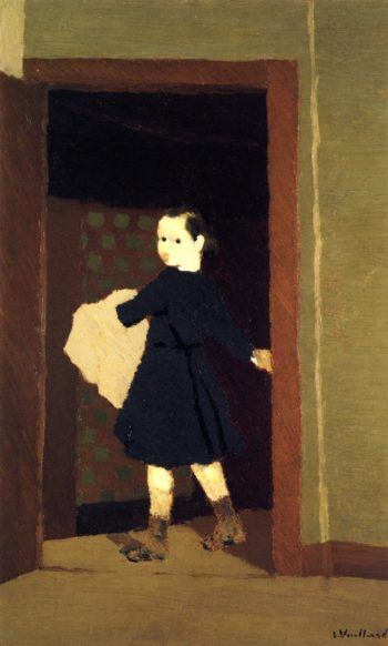 The LIttle Delivery Boy | Edouard Vuillard | oil painting
