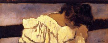 The Nape of Misia's Neck | Edouard Vuillard | oil painting