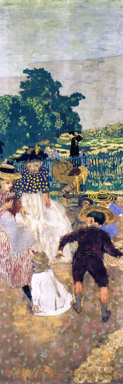 The Public Gardens The Nursemaids | Edouard Vuillard | oil painting