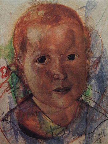 defect 1915 | Petrov Vodkin Kuzma Sergeevich | oil painting