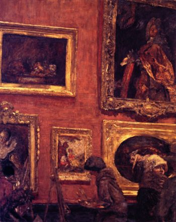 The Salle la Case at the Louvre | Edouard Vuillard | oil painting
