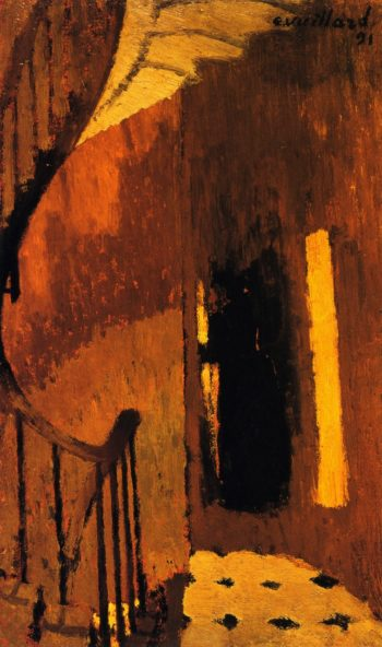 The Staircase Landing Rue de Miromesnil | Edouard Vuillard | oil painting
