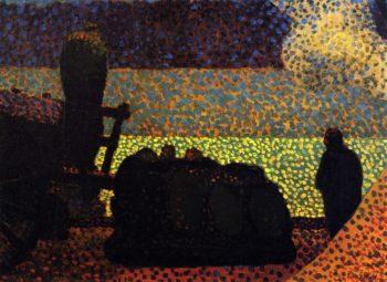 The Stevedores | Edouard Vuillard | oil painting