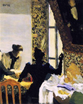 The Stich | Edouard Vuillard | oil painting