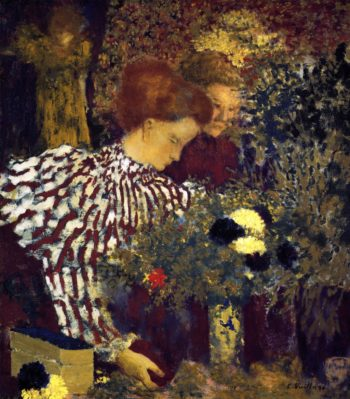 The Striped Blouse | Edouard Vuillard | oil painting
