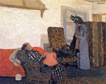 The White Room | Edouard Vuillard | oil painting