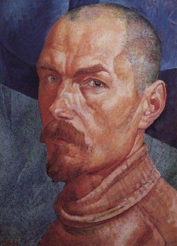 Self 2 1926 1927 | Petrov Vodkin Kuzma Sergeevich | oil painting
