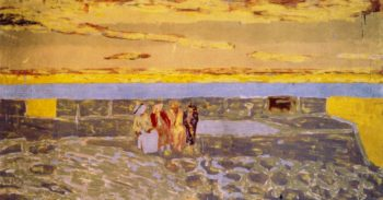 Twilight at Le Pouliguen | Edouard Vuillard | oil painting