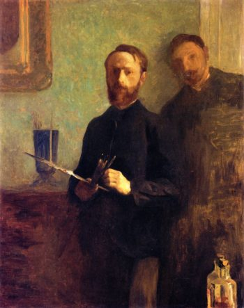 Vuillard and Waroquy | Edouard Vuillard | oil painting