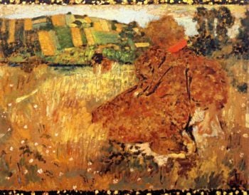 Woman in the Countryside | Edouard Vuillard | oil painting