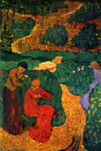 Women in the Garden Le canticle des Cantiques | Edouard Vuillard | oil painting