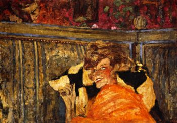 Yvonne Printemps and Sacha Guitry | Edouard Vuillard | oil painting