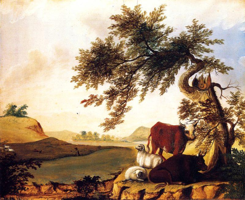 Landscape | Edward Hicks | oil painting