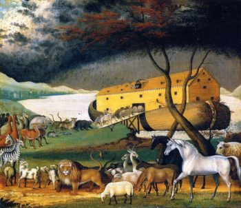 Noah's Ark | Edward Hicks | oil painting