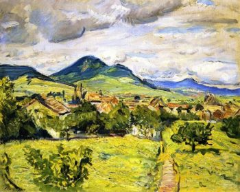 Spring in the Palatinate | Max Slevogt | oil painting