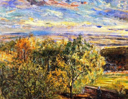 Palatinate Landscape | Max Slevogt | oil painting