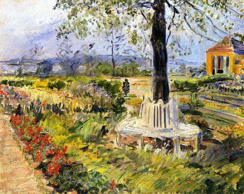Garden in Neu Cladow | Max Slevogt | oil painting