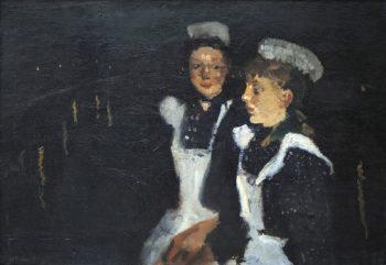 Amsterdam Servant Girls | George Heidrik Breitner | oil painting