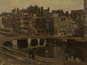 The Rokin in Amsterdam 2 | George Heidrik Breitner | oil painting