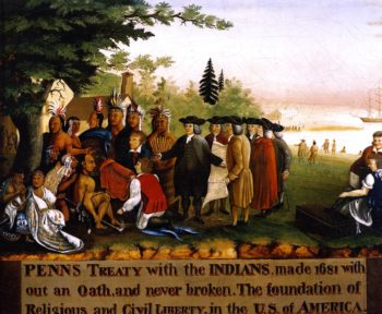 Penn's Treaty with the Indians | Edward Hicks | oil painting